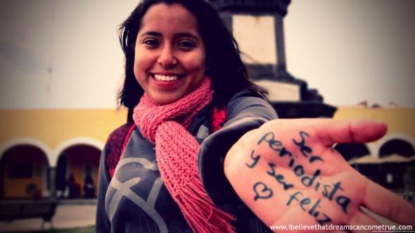 Adrianna (journalist) and her sueño