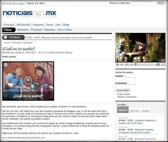 Oaxaca Noticias - The Online Video