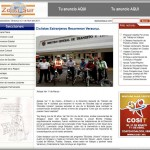 Article in Diario Zona Sur