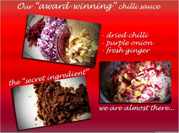 Award-winning Chilli Sauce