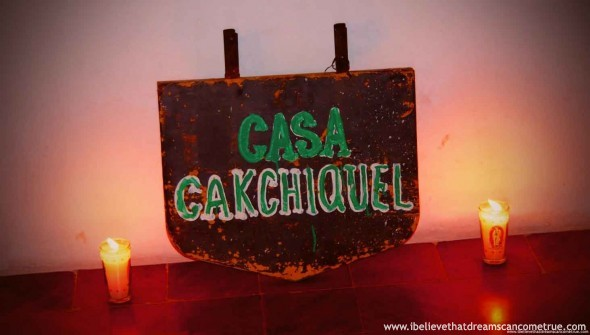 For our sharing at Casa Cakchiquel