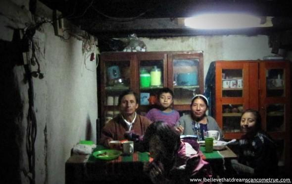 Abuelo Rigoberto and his family
