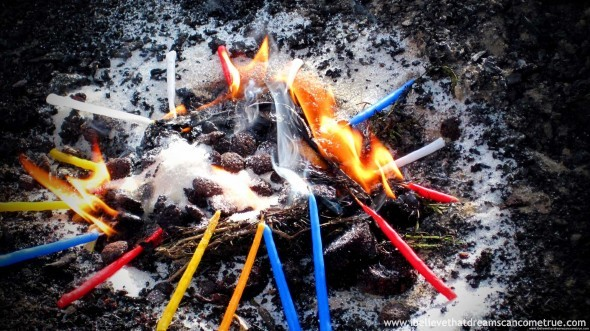 The Mayan Ceremonial Fire