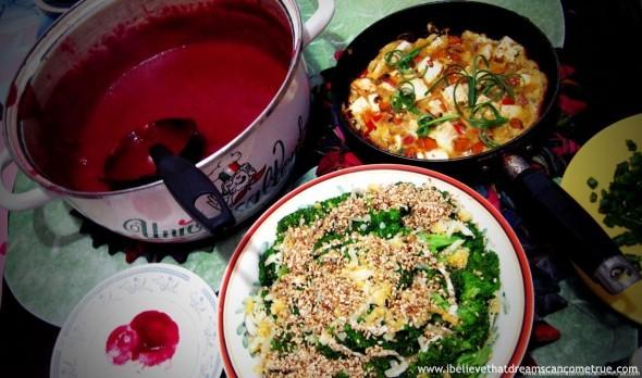 Dinner for Helga and Kids