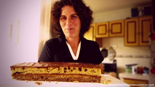 """""""Helguita's AWESOME home-made cake"""""""