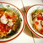 Finally the soup!