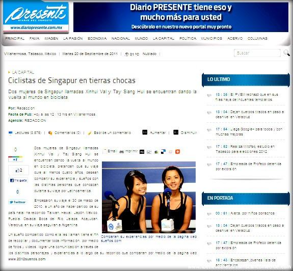 Diario Presente Article
