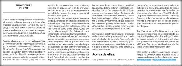 Article on El Sie7e de Chiapas Part II