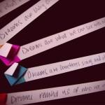 """Dreams are..."" Postcard"