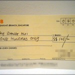 A Traveler's Cheque