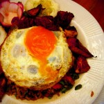 "Nasi Goreng - ""Kah Dan (literally, plus an egg)"""