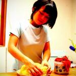 Preparing the tart crust