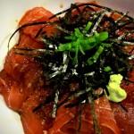 Maguro Don - Tuna Sashimi Rice Bowl