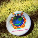 "Limited Edition ""I Believe That Dreams Can Come True"" Cartoon Logo Button"